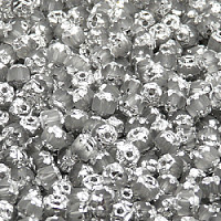30pcs Czech Fire-Polished Faceted Glass Cathedral Round Beads 4mm Crystal Labrador Matte