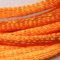 Satin Cord, 2mm, Orange, 5m