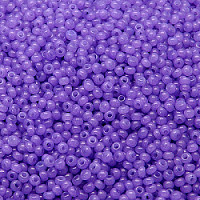 20g Preciosa Czech Glass Seed Beads Rocailles Round 10/0 Alabaster Solgel Dyed 02623