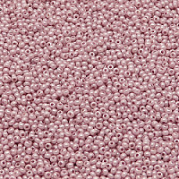 20g Preciosa Czech Glass Seed Beads Rocailles Round 14/0 Chalk White Sfinx & Terra Collor Dyed 16326